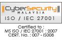 MS ISO/IEC 27001:2007