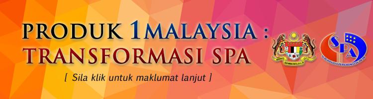 Produk 1 Malaysia Transformasi SPA